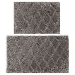 Vera Wang® Tufted Diamond Reversible Bath Rug Set