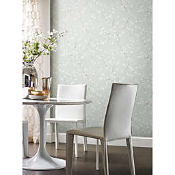 RoomMates® Cherry Blossom Peel & Stick Wallpaper in Blue