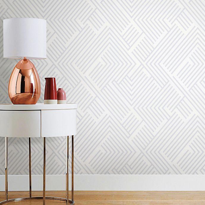 Alternate image 1 for Roommates® Perplexing Peel & Stick Wallpaper