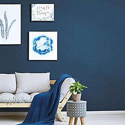 Roommates® Perplexing Peel & Stick Wallpaper in Blue