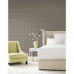 Roommates® Off the Grid Peel & Stick Wallpaper in Brown