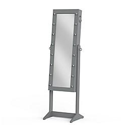 Prinz Marquee 16-Inch x 55-Inch Jewelry Cabinet Floor Mirror