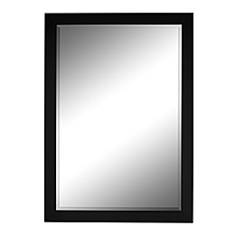 Hitchcock-Butterfield Monaco 39.75-Inch x 51.75-Inch Wall Mirror in Black