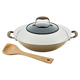 Anolon® Advanced™ Home Nonstick 14-Inch Hard-Anodized Aluminum Wok