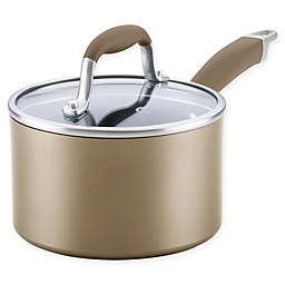 Anolon® Advanced™ Home Nonstick 2 qt. Hard-Anodized Aluminum Saucepan in Bronze
