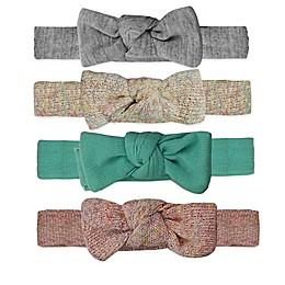 Tiny Treasures 4-Pack Knitted Bow Headbands