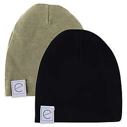 Ely's & Co.® Size 0-3M 2-Pack Beanies