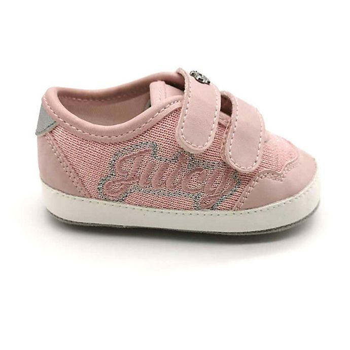 Alternate image 1 for Juicy Couture® Glitter Sneaker in Pink