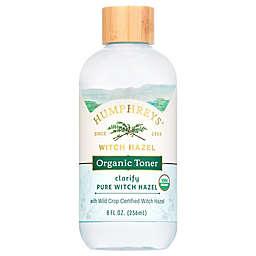 Humphreys® Clarify 8 fl. oz. Pure Witch Hazel Organic Toner
