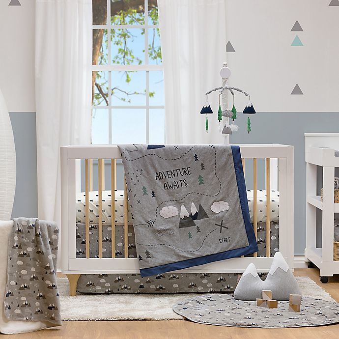 Alternate image 1 for Lolli Living™ by Living Textiles Peaks Crib Bedding Collection