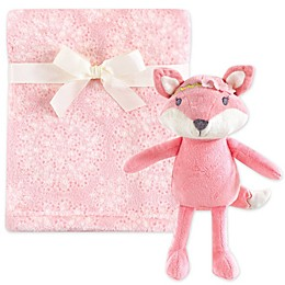 Hudson Baby® Plush Blanket and Toy Gift Set