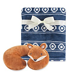 Hudson Baby® Neck Pillow and Blanket Set