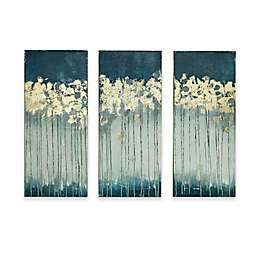 Madison Park Midnight Forest 35-Inch x 15-Inch Canvas Wall Art (Set of 3)