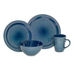 Baum Allure 16-Piece Dinnerware Set in Blue
