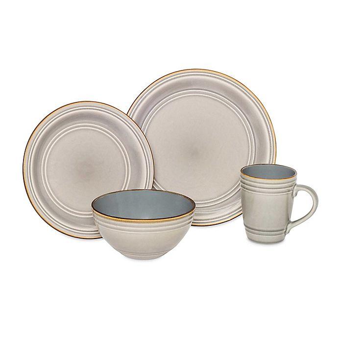 Alternate image 1 for Baum Allure 16-Piece Dinnerware Set in Grey