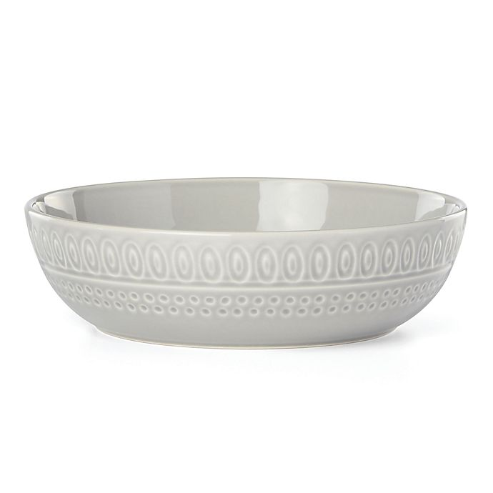 Alternate image 1 for kate spade new york Willow Drive Grey™ Dinner Bowl