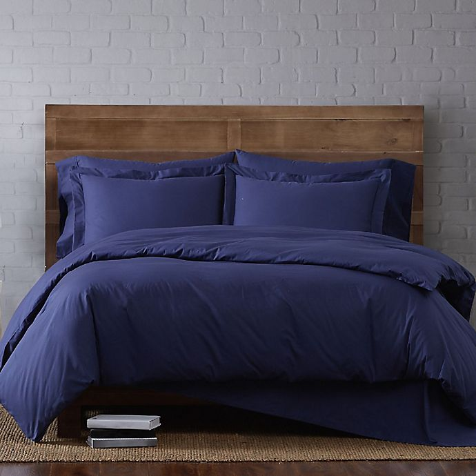 Alternate image 1 for Brooklyn Loom Classic 3-Piece Duvet Cover Set