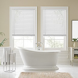 Real Simple® Faux Wood 60-Inch Cordless Shade in White