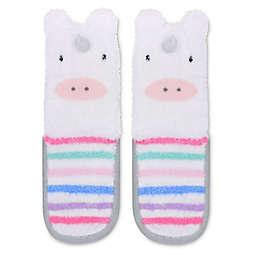 On the Goldbug™ Unicorn Feather Slipper Sock
