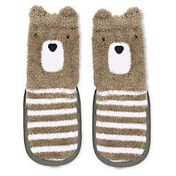 On the Goldbug™ Bear Slipper Socks