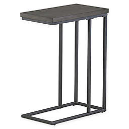 Modern Farmhouse Metal and Wood C Table