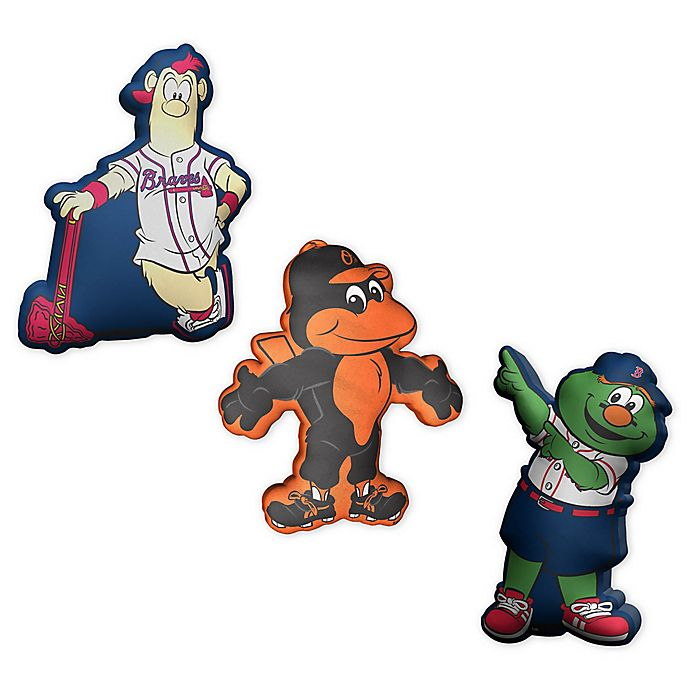 Alternate image 1 for Plushlete® MLB Mascot Oblong Indoor/Outdoor Throw Pillow Collection