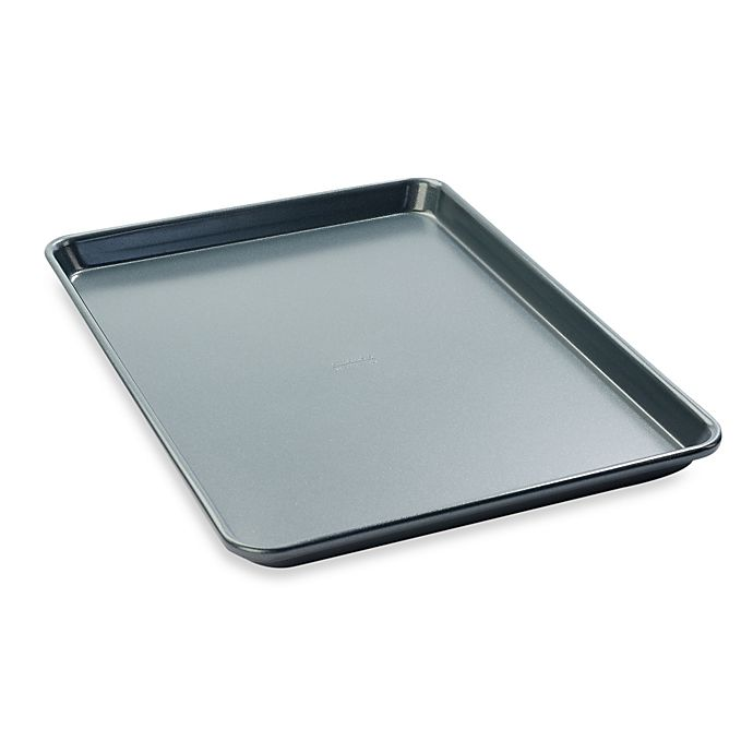 Alternate image 1 for Chicago Metallic™ Professional 17-Inch x 12-Inch Jelly Roll Pan with Armor-Glide Coating