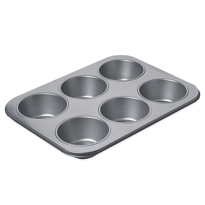 Alternate image 1 for Chicago Metallic™ Professional 6-Cup Giant Muffin Pan with Armor-Glide Coating