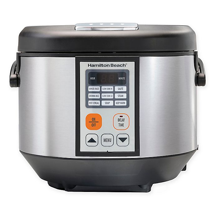 Alternate image 1 for Hamilton Beach® 4.5 qt. Digital Multi-Cooker