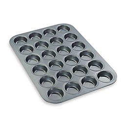 Chicago Metallic™ Professional 24-Cup Mini Muffin Pan with Armor-Glide Coating