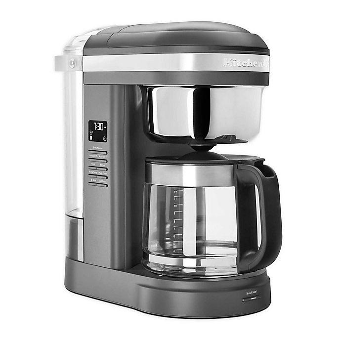 Alternate image 1 for KitchenAid® 12 Cup Drip Coffee Maker w/ Spiral Showerhead