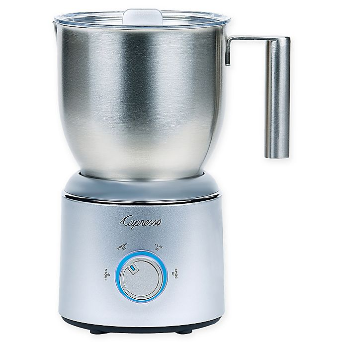 Alternate image 1 for Capresso® FrothSelect Automatic Milk Frother in Silver