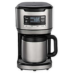 Hamilton Beach® 12-Cup Front Fill Thermal Coffee Maker in Black