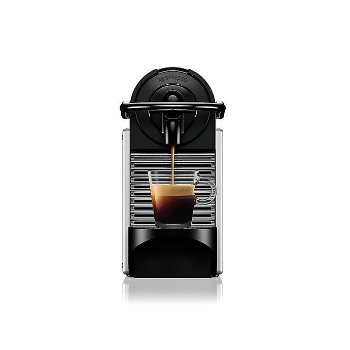 Alternate image 1 for Nespresso® Pixie by De'Longhi Espresso Maker in Aluminum