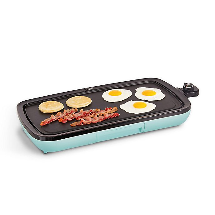 Alternate image 1 for Dash™ Everyday Griddle in Aqua