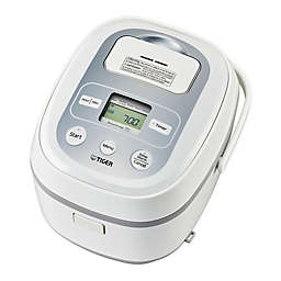 Tiger 10-Cup Multi-Functional Rice Cooker in Stainless Steel