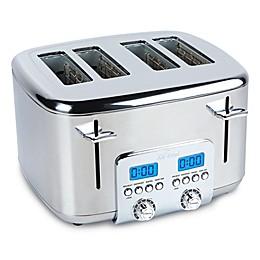 All-Clad 4-Slice Stainless Steel Digital Toaster