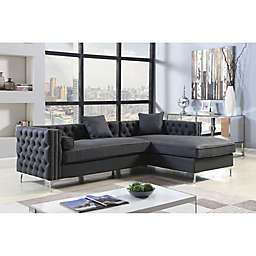 Chic Home© Picasso Upholstered Sectional Sofa