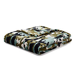 BOY MEETS GIRL® by Stacy Igel Throw Blanket in Camo