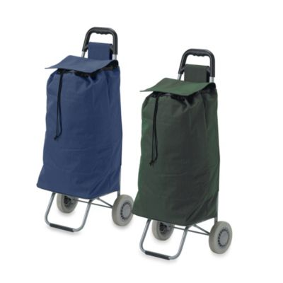Drive Medical Lifestyle Essentials Rolling Ping Cart With Canvas Bag Bed Bath Beyond