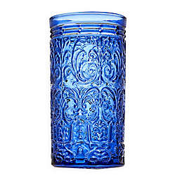 Godinger® Jax Highball Glasses in Blue (Set of 4)