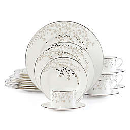 kate spade new york Garnder Street Platinum™ 20-Piece Dinnerware Set