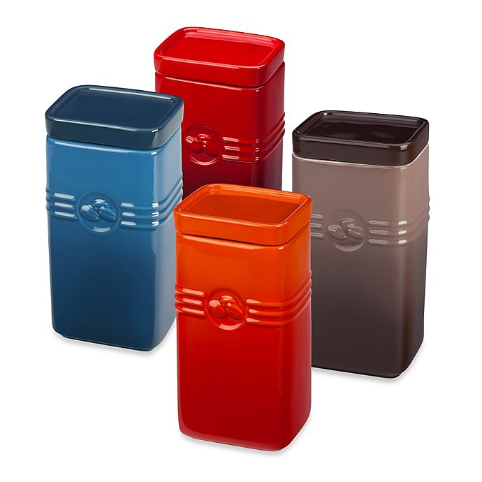 Alternate image 1 for Le Creuset® 2 qt.Coffee Storage Jar