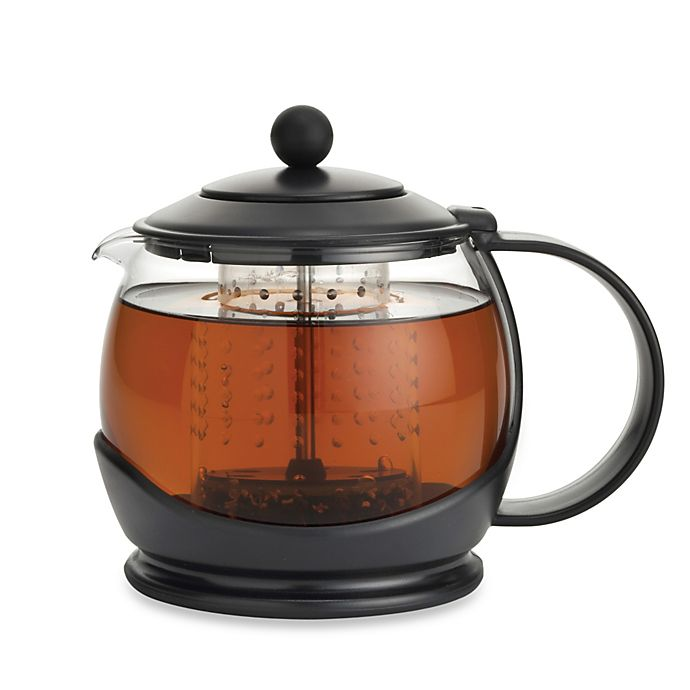 Alternate image 1 for BonJour® Prosperity Teapot with Shut-Off Infuser
