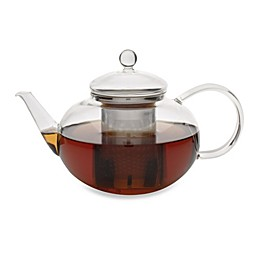 adagio teas 42-Ounce Glass Teapot with Stainless Steel Infuser