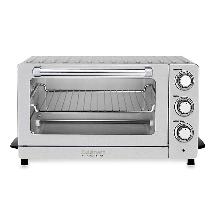 Alternate image 1 for Cuisinart® Stainless Steel 6-Slice Convection Toaster Oven/Broiler