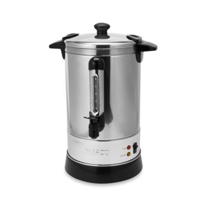 Nesco 30 Cup Stainless Steel Double Wall Insulated Electric Coffee Urn Bed Bath Beyond