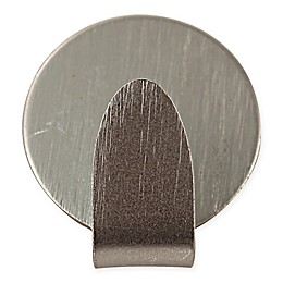 Spectrum 3-Pack Magnetic Medium Round Hooks in Brushed Nickel