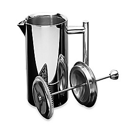 Frieling 17 oz. Insulated Stainless Steel French Press in Mirror Finish