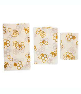 Set de envolturas reutilizables Core Kitchen de cera de abeja, 3 piezas